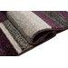 Home & Haus Barite Dark Lilac Area Rug