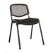 Home & Haus Toronto Armless Stacking Chair with Cushion