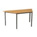 Home & Haus Flint Children's Trapezoid Arts and Crafts Table