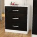 Home & Haus Cambridge 3 Drawer Chest of Drawers
