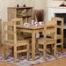 Home & Haus Brigite Dining Table and 4 Chairs