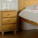 Home & Haus Dea 3 Drawer Bedside Table