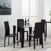 Home & Haus Pippa Dining Table and 4 Chairs