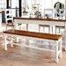 Home & Haus Ester Wood Kitchen Bench