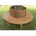 Home & Haus Desna Teak Round Tree Bench
