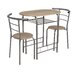 Home & Haus Ulm 3 Piece Dining Chair