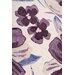 Home & Haus Leggo Purple Area Rug
