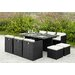 Home & Haus 10 Seater Dining Set with Cushions