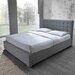 Home & Haus Santa Cruz Upholstered Bed Frame