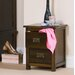 Home & Haus Iris 2 Drawer Bedside Table