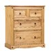 Home & Haus Clasic Corona 4 Drawer Chest of Drawers