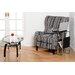 Home & Haus Elena Coffee Table with Magazine Rack
