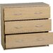 Home & Haus New Haven 3 Drawer Chest of Drawers