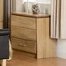 Home & Haus 3 Drawer Chest of Drawers