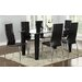 Home & Haus Rousey Dining Table and 6 Chairs