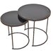 Home & Haus 2 Piece Side Table Set