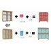 Monica Lazzari Design Low 70cm Cube Unit
