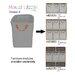 Monica Lazzari Design Storage Basket for Module Drawer E