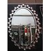 Crown Home Décor Modern Oval Wall Mirror