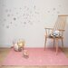 Art for kids Hand-Woven Pink Area Rug