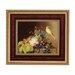 Goebel Gerahmtes Wandbild Stillleben mit Kanarienvogel von Johan Laurentz Jensen - 51,5 x 59 cm