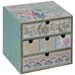 Château Chic Patchwork Patterned Jewellery Box