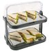 APS Doppeldecker Buffet-Vitrine-Set