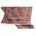 Parwis Handgeknüpfter Teppich Indo Bidjar Ghalip in Rot