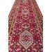 Parwis Handgeknüpfter Teppich Indo Royal Bidjar in Rot