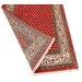 Parwis Handgeknüpfter Teppich Indo Mir Ghalip in Rot