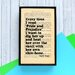 """Bookishly """"Every Time I Read..."""" by Mark Twain Framed Typography"""