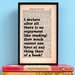 """Bookishly """"No Enjoyment Like Reading..."""" from Pride and Prejudice by Jane Austen Framed Typography"""