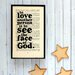 """Bookishly """"To Love Another Person..."""" from Les Misérables by Victor Hugo Framed Typography"""