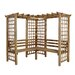 Forest Garden Sorrento 4 Seater Wooden Arbour