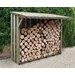 Forest Garden 7 Ft. W x 4 Ft. D Wooden Log Store