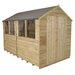 Forest Garden 8 x 10 Wooden Storage Shed