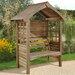 Forest Garden Cadiz 2 Seater Wooden Arbour