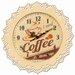 Carrick Design Endless Coffee 32cm Wall Clock