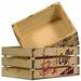 Carrick Design Endless Coffee 2 Piece Storage Crates Set