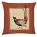 BelgianTapestries Pheasant Tail Cushion Cover
