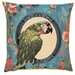 BelgianTapestries Parrot Cushion Cover