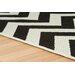 Oriental Weavers Teppich MalmoCreme in Schwarz/ Creme