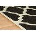 Oriental Weavers Teppich Trellis Flatweave in Schwarz