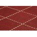 Oriental Weavers Teppich Checked Flatweave in Rot