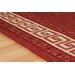 Oriental Weavers Teppich Greek Key Flatweave in Rot