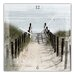 Cuadros Lifestyle Wall Clock Dune Pathway