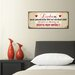 Cuadros Lifestyle Liebe ist Plaque