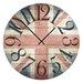 Cuadros Lifestyle Great Britain Wall Clock