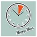 Cuadros Lifestyle Happy Hour Wall Clock
