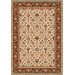 Devos Caby Isphahan Ivory Area Rug